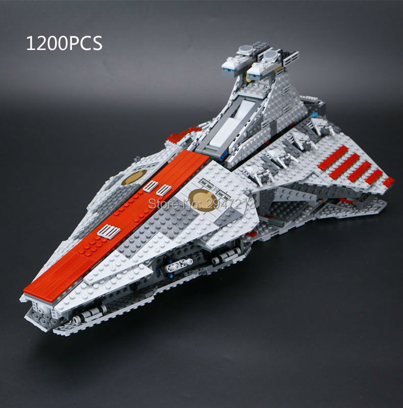 hot compatible LegoINGlys Star Wars series Building Blocks Republic of the cruiser mini stormtroopers figures brick toys gift
