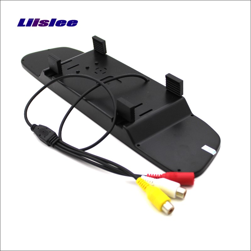Liislee Für Peugeot 407 5D Estate Wagon Rückspiegel Auto Monitor Display/HD TFT LCD NTSC PAL Farbe TV System
