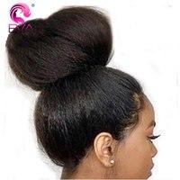 Бесклеевого натуральные волосы парики с ребенком волос предварительно сорвал волосяного покрова яки прямо Full Lace парики перуанский Волосы