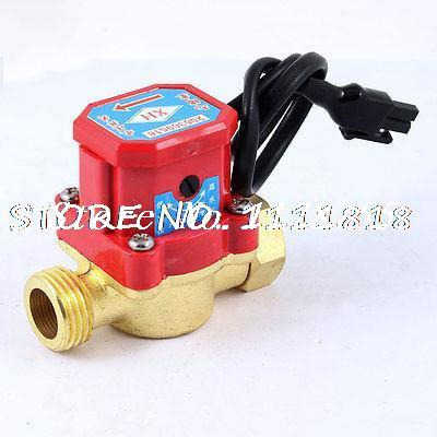 21mm Male Thread Connector 120W Pump Flow Sensor Liquid Switch for Water Heater water pump flow switch used for laser cutting machine