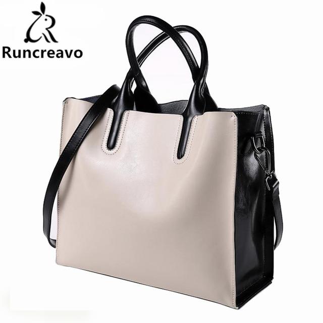 100% Genuine Leather Bags Women s Bucket Famous Brand Designer Handbags  High Quality Tote Shoulder Messenger df20553fd8ba8