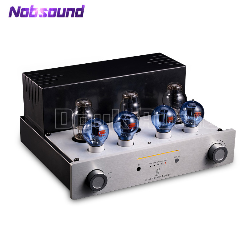 Hi-End 300B Valve & Vacuum Tube Amplifier Stereo Hi-Fi Class A Single-ended Stereo Power Amp hi end 300b valve