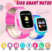 Smart Watch 2019 hot sales Kids Smart Watch Q90 Anti-lost Safe GPS SOS SIM Call Pedometer Smart Phone Watch(China)