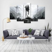 Canvas Posters For Living Room Framework HD Prints Pictures 5 Pieces Star Wars Battlefront Movie Paintings Home Decor Wall Art star wars battlefront цифровая версия