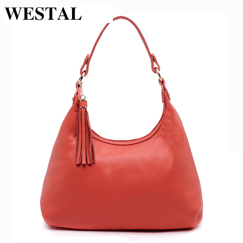 WESTAL Genuine Leather Bag Female Women Shoulder Bag Women Messenger Bags Women's Crossbody Bags Leather Handbags New Arrival new women genuine leather handbags shoulder messenger bag fashion flap bags women first layer of leather crossbody bags