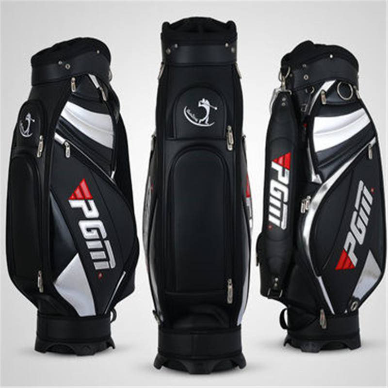 2016 Real Ogio Golfbag Chaussure Lumineuse New Pgm Genuine Men's Bag Can Hold A Full Set Of Clubs End Up Playing Standard Club pgm vs golf standard ball package bag87 23 46cm men golf plaid club bag women ball environmental pu cart bag can hold 13 clubs