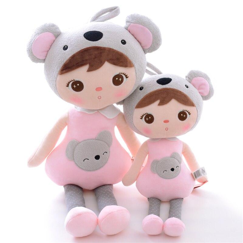 Ny Ankomst Original Metoo Lucky Dolls Rosa Koala Plysj Barn Baby - Dukker og tilbehør - Bilde 2