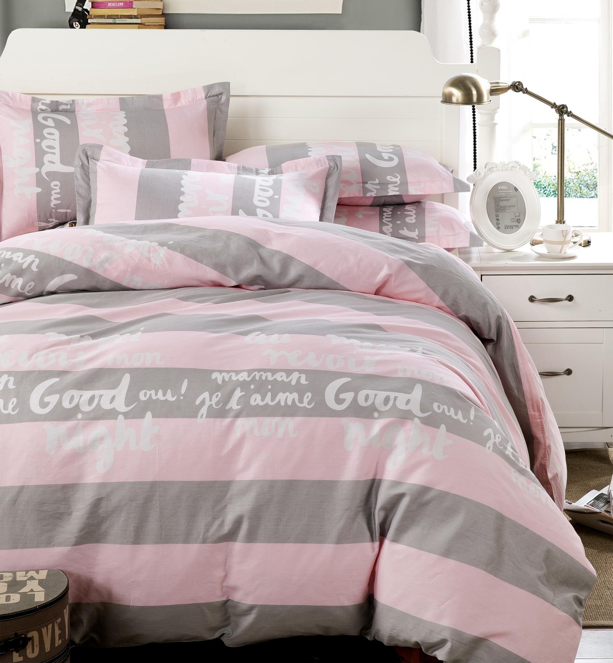 Roze Bed Sets-Koop Goedkope Roze Bed Sets loten van Chinese Roze ...
