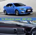 Dashmats-car styling acessórios do carro tampa do painel para Mitsubishi Lancer ex Galant FORTIS evo 2007 2008 2010 2011 2012 2014