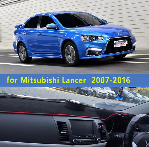 car dashmats car styling accessories dashboard cover for Mitsubishi Lancer ex FORTIS evo Galant 2007 2008 2010 2011 2012 2014