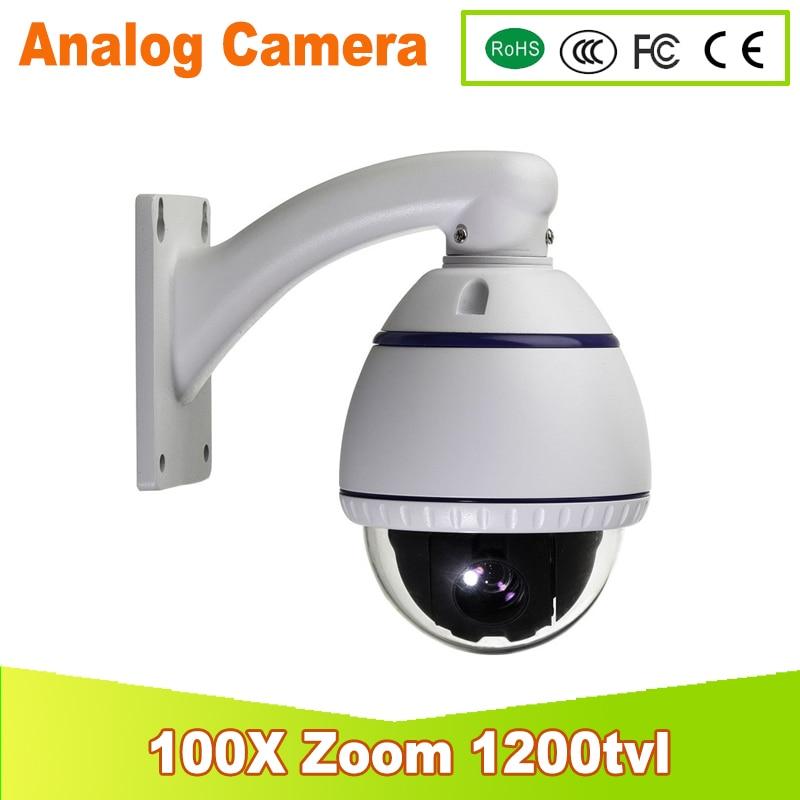 YUNSYE 2017 New CCTV Security Home 360 Degree Rotate 100x Optical Zoom Array IR Indoor Mini Speed PTZ Camera Free Shipping mini 4 inch cctv 100x 540tvl 256 preset 3 8 38mm indoor camera