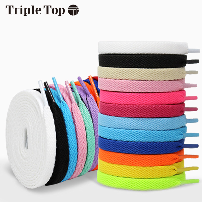 TRipleTop Colorful Original Elastic Durable Shoelace With Reducing Pilling Loose- Proof  Anti-Proof For Shoelace