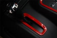 For Jeep Wrangler Rubicon JK 2007 2015 ABS Gear Shift Cover Trim Interior Accessories Cover Small Size 1pc