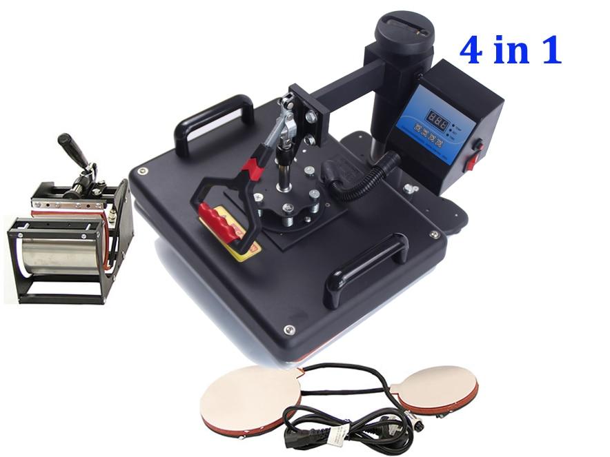 New Design 4 in 1 Heat Press Heat Transfer Machine tshirt Printing Machine Cheap Iphone Case