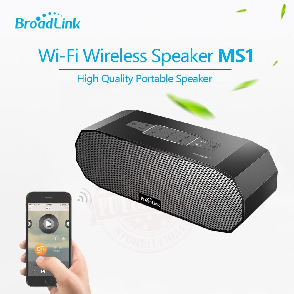 Ms1 broadlink wifi wireless mini altavoz inteligente de enlace de audio para el