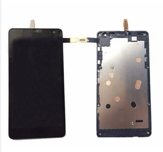 CT2S1973FPC Version DHL 10pcs New For microsoft Lumia 535 LCD Screen Display and Touch Screen Digitizer with frame Assembly