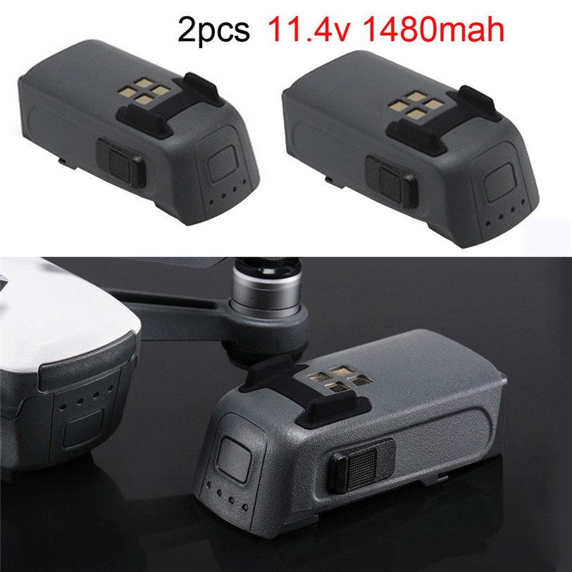 2x Replacement Intelligent Flight Battery 1480mah 16m Flight Part For DJI Spark Professional Factory Price 6A11 Drop Shipping