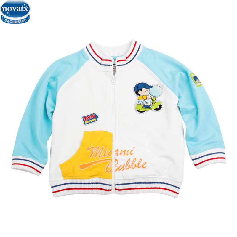 novatx A315 new arrival children coat spring winter kids wear printed cool picture new born baby boys coat and jacket