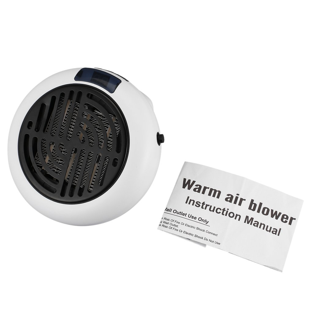 900w Mini Warm Air Blower Wall-outlet Portable Heater Auto Shut-off Compact And Powerful Digital Led Screen US/EU900w Mini Warm Air Blower Wall-outlet Portable Heater Auto Shut-off Compact And Powerful Digital Led Screen US/EU
