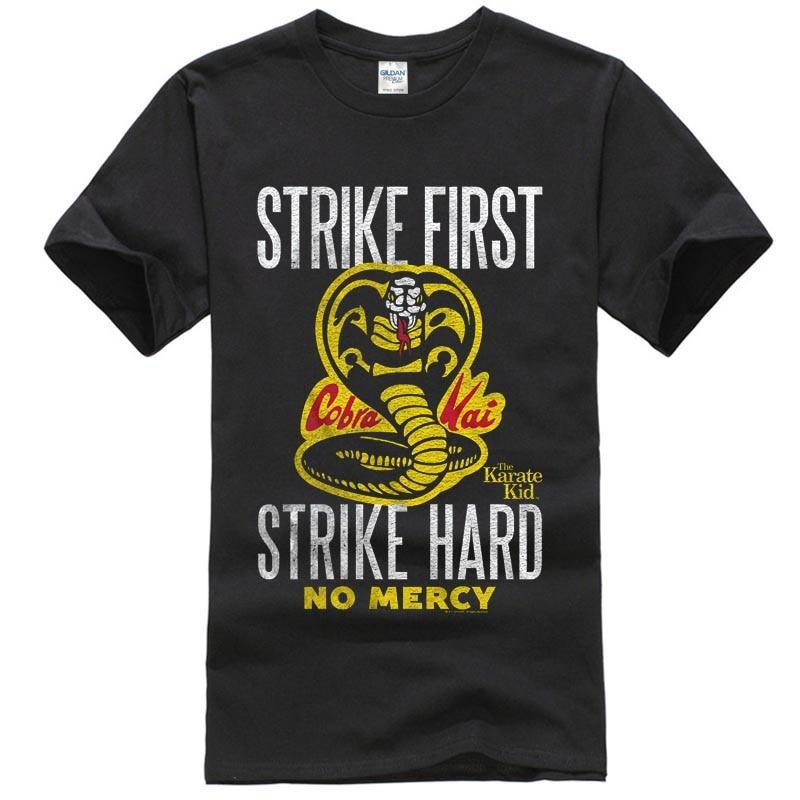 Карате малыш STRIKE HEATHER футболка Лидер продаж одежда Новинка 2018 г. мужская мода