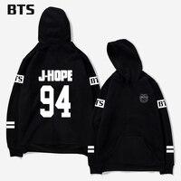 BTS 94 Rap Monster Kpop Oversized Hoodie Long Print Bangtan Boys Wings SUGA Comfortable Harajuku Casual