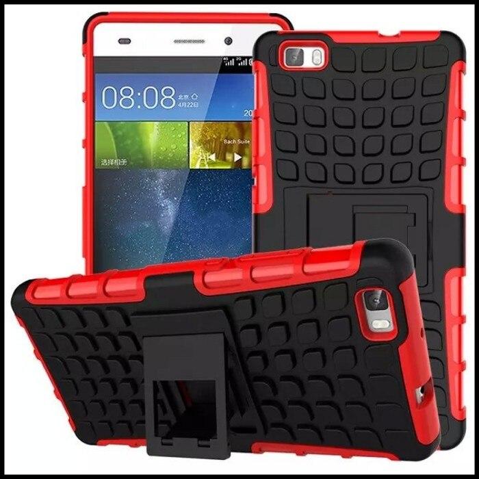 Para Huawei Ascend P8 P8 Lite Armor Case Mini Teléfono accesorio Móvil de la Car