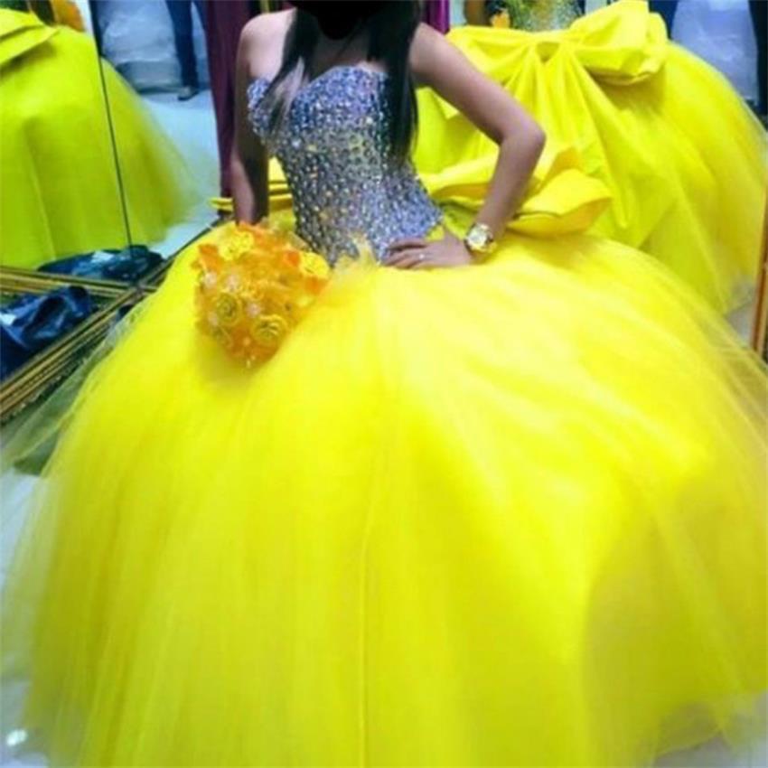 Date Quinceanera robes 2020 Off the épaule perles cristal Tulle doux 16 robes robe de Debutante