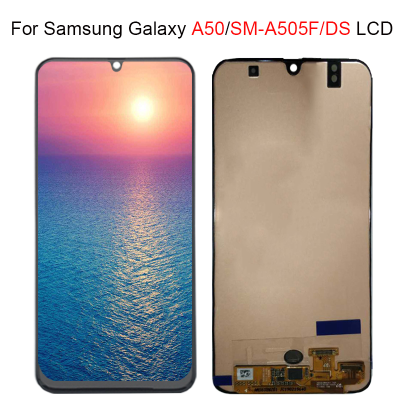 For Samsung galaxy A50 A505F/DS LCD A505F A505FD A505A LCD Display Touch Screen Digitizer Assembly For Samsung A50 lcdFor Samsung galaxy A50 A505F/DS LCD A505F A505FD A505A LCD Display Touch Screen Digitizer Assembly For Samsung A50 lcd