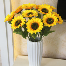 Artificial Dried Flowers Single large sunflower Simulation s
