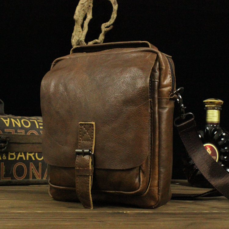 The New Zealand Bag The First Layer of Leather Oblique Cross Package Men's Shoulder Bag Made of Genuine Leather Bread Dropship free age free age джинсы на резинке светло голубые
