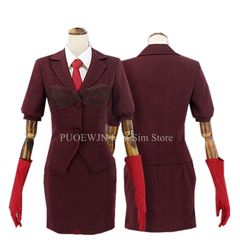 Anime Angels of Death Catherine Ward Cosplay Costume