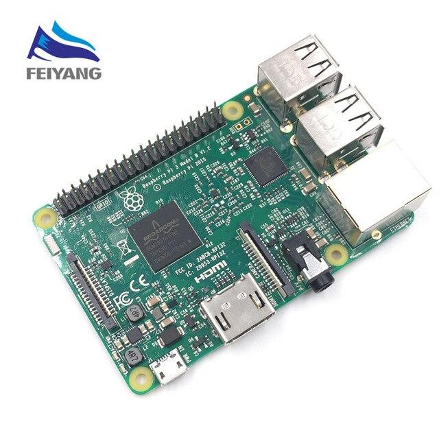2016 nova original raspberry pi 3 modelo b/raspberry pi/framboesa/pi3 b/pi 3/pi 3b com wifi & bluetooth (Element14 ver)