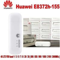 Unlocked Huawei E8372h 155 150Mbps Modem 4G Wifi 4G LTE Wifi Modem, PK huawei E8278, W800Z