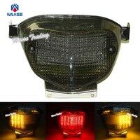 Waase e-marked rear taillight 테일 브레이크 턴 시그널 통합 led 라이트 램프 2001 2002 suzuki gsxr1000 gsxr GSX-R 1000 k1