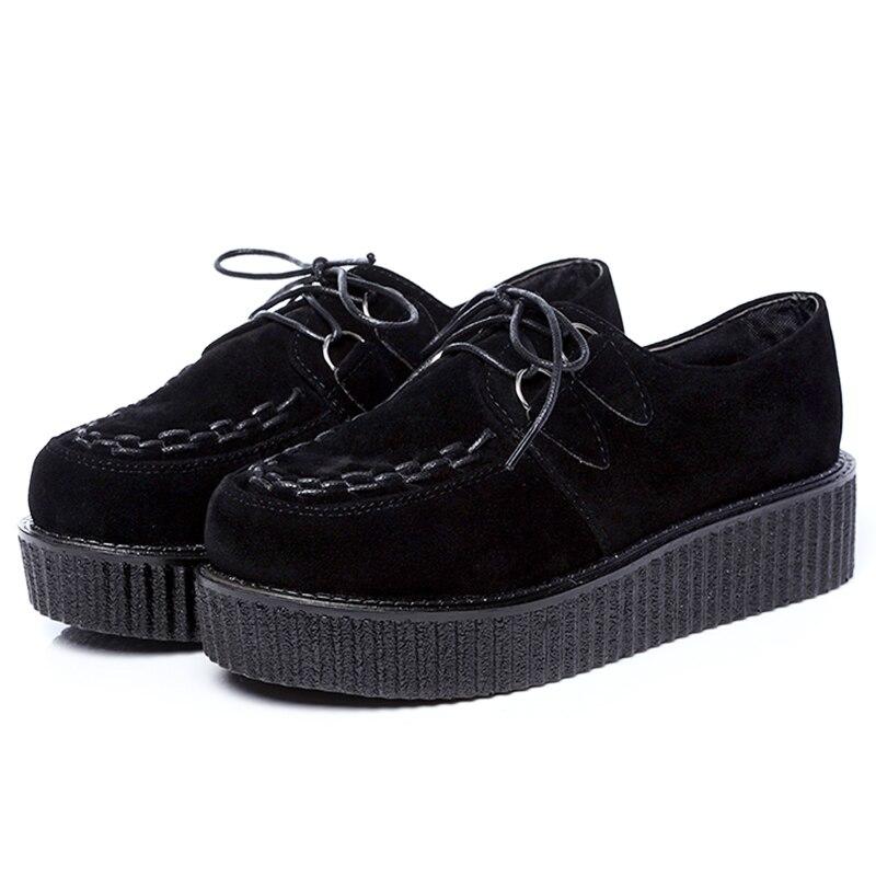 12 Colores de Las Mujeres Enredaderas Zapatos de Plataforma Casuales Zapatos Con