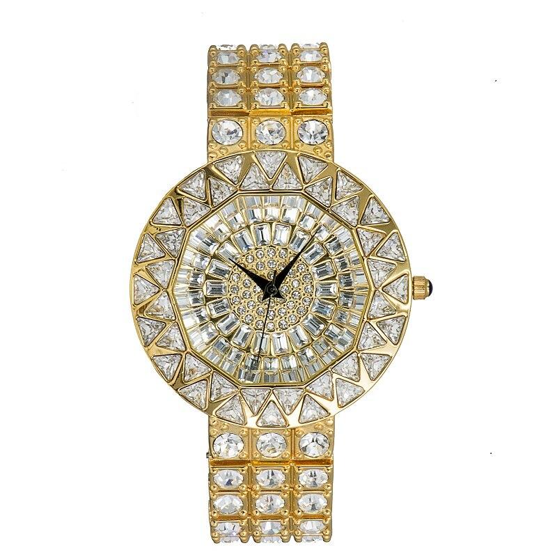 Ladies Luxury Fashion quartz Watches Crystal Rhinestone Woman Watch gem Diamonds Brand Watch Reloj for montre femme Female Clock otoky 2017 women watches fashion thin belt rhinestone strap quartz wrist watch woman reloj montre femme apr26