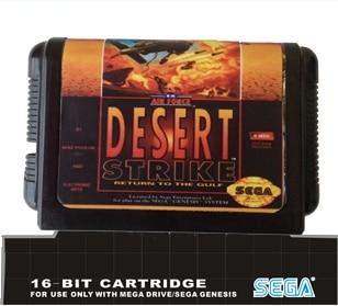 Desert Strike  - 16 bit MD Games Cartridge For MegaDrive Genesis console