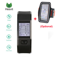 Hesvit S3 Bluetooth 4 0 Smart Bracelet Heart Rate Monitor Smart Wristband TPU Fitness Tracker Smart