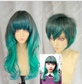 Free Shipping !!! Harajuku 70cm Wavy Peacock Gradient Gothic Lolita Cosplay Party Wigs