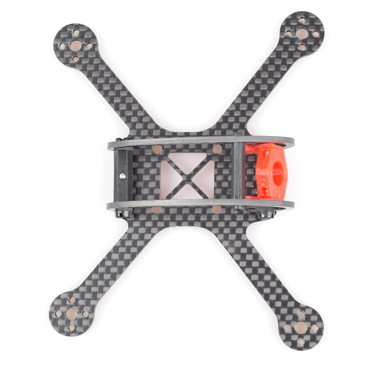 120mm Carbon Fiber Frame Kit X Shape 4-Axle Frame Leader-120 for DIY Micro Racing FPV Drone Quadcopter