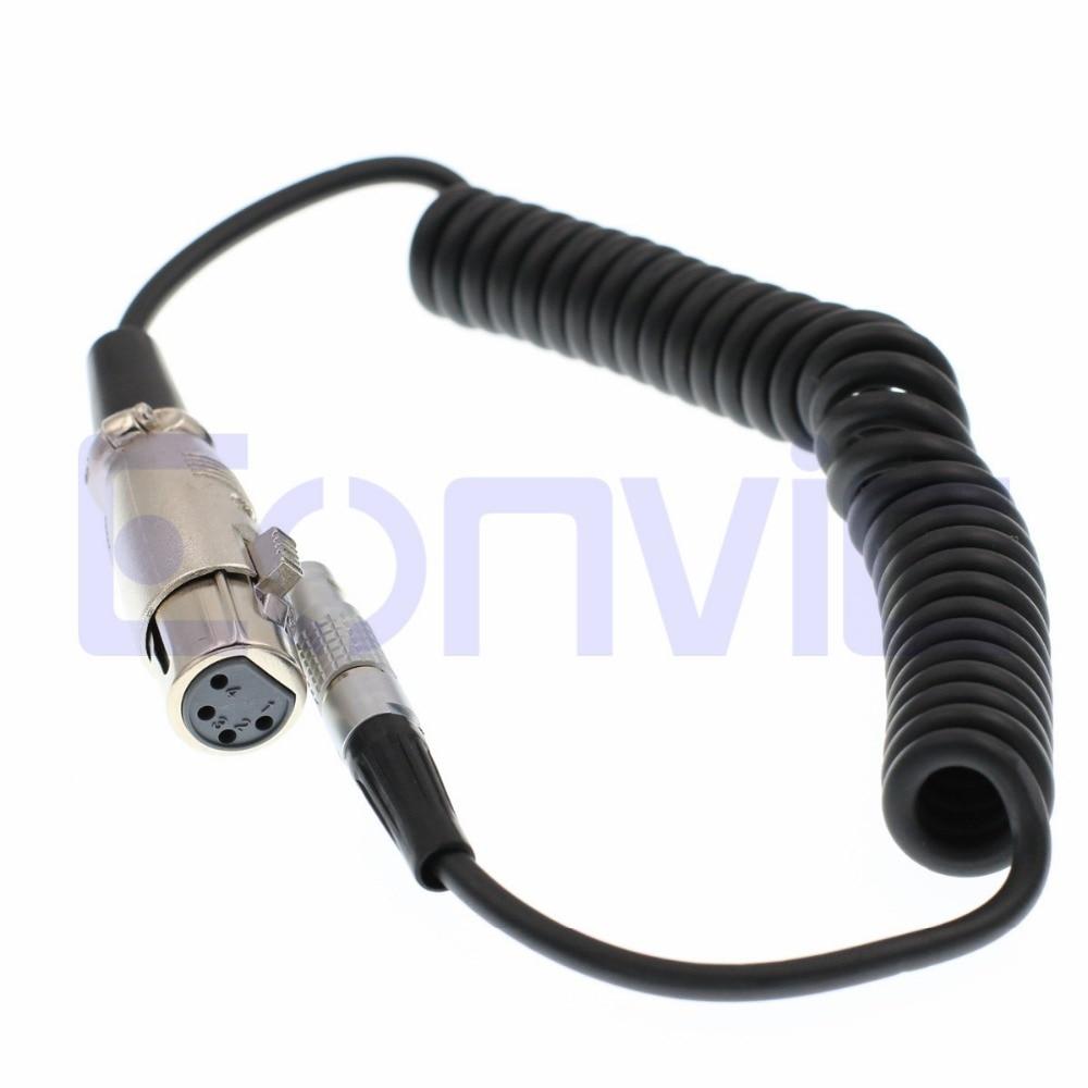 eonvic 2 pin lemo to neutrik xlr 4 pin nc4mxx b arri cameras monitor power cable [ 1000 x 1000 Pixel ]