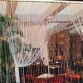 Свадебные Украшения 99FT 30 М Восьмиугольная Акриловая Хрустальные Бусины DIY Занавес Свадьбы Украшение Бесплатная Доставка