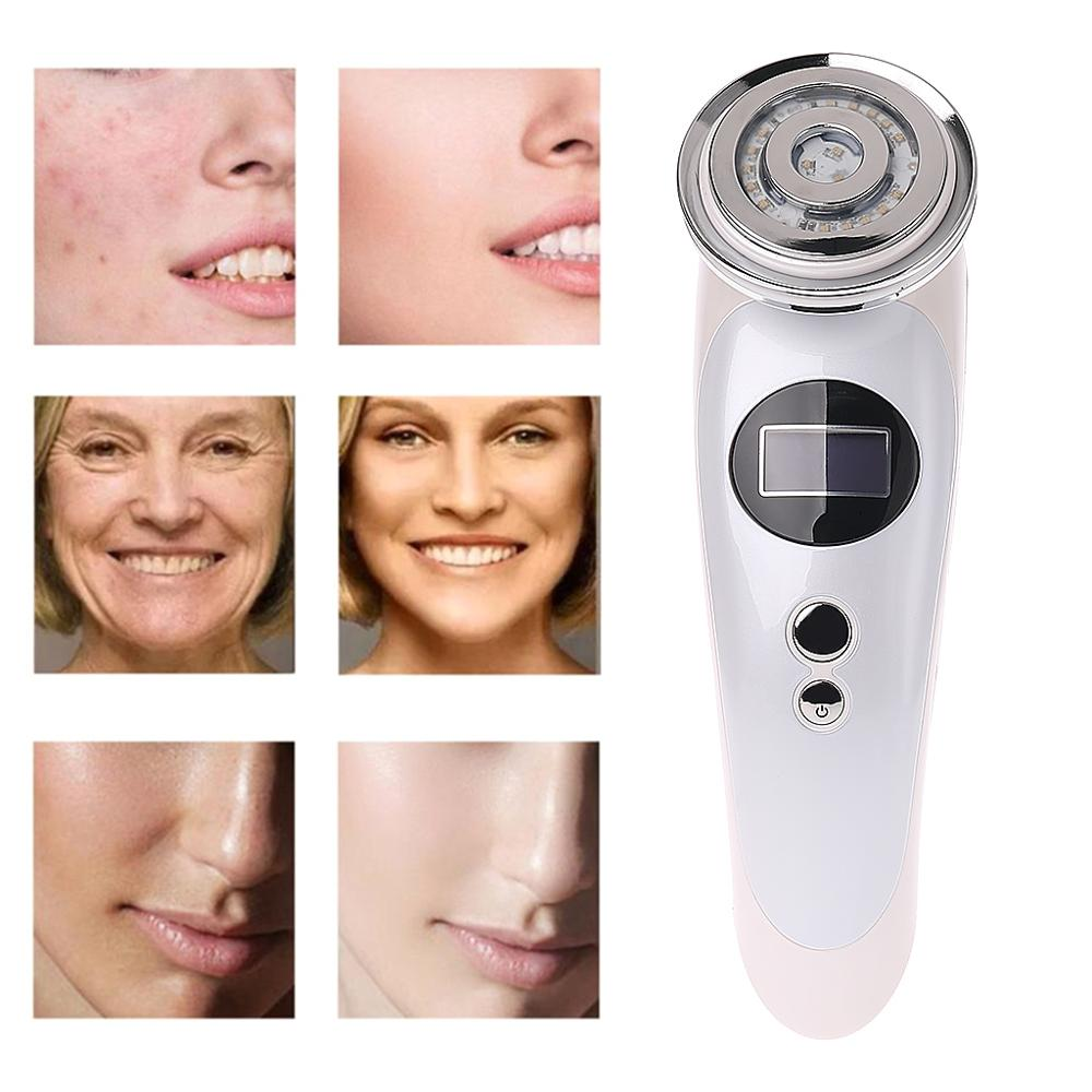 Multi-function EMS Ion Beauty Instrument IPL Freckle Rejuvenation Cold and Hot RF Skin Care Tools EU US Professional Home UseMulti-function EMS Ion Beauty Instrument IPL Freckle Rejuvenation Cold and Hot RF Skin Care Tools EU US Professional Home Use