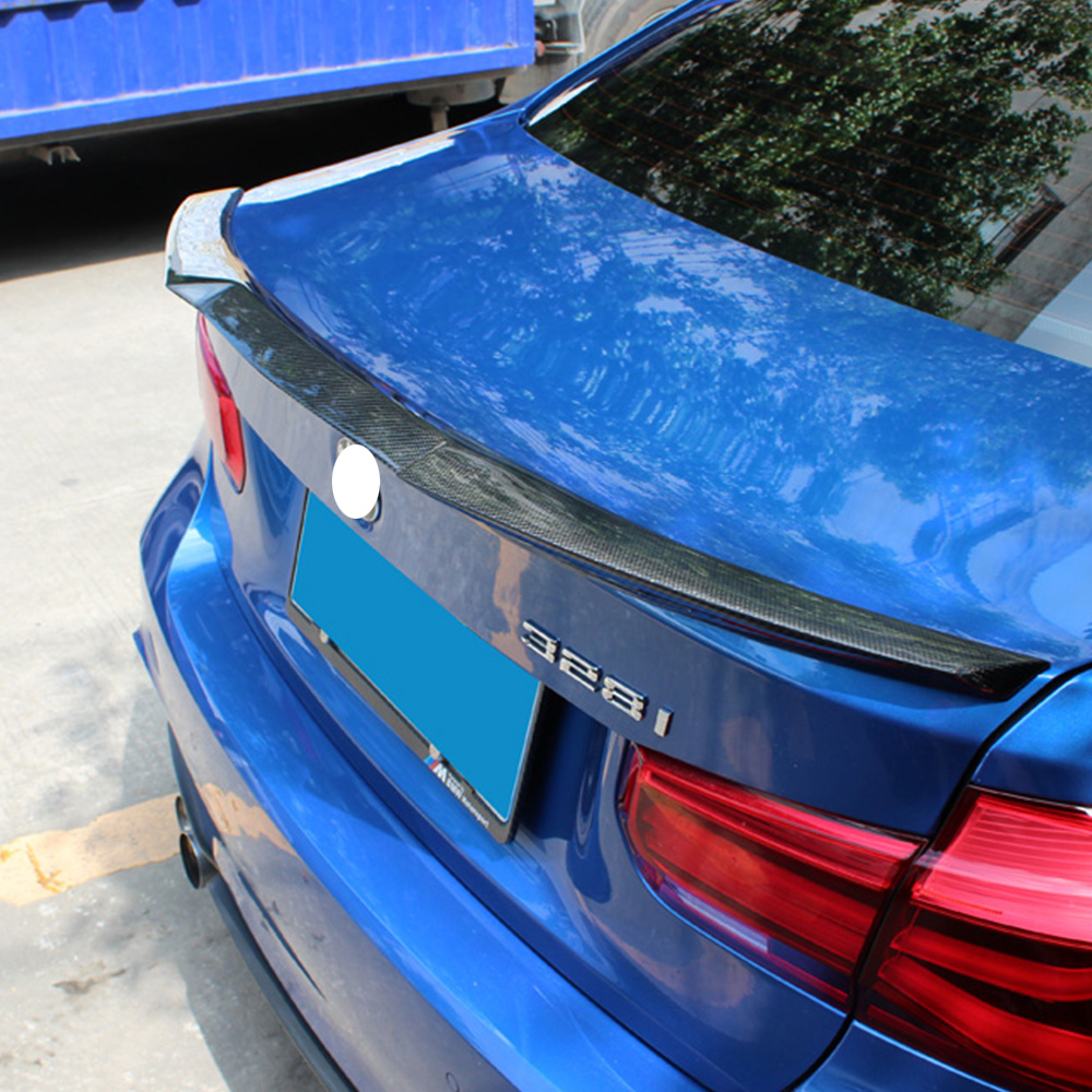F30 Rear Spoiler M4 style & ABS black Mirror coverF30 Rear Spoiler M4 style & ABS black Mirror cover