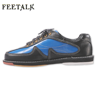 Unisex Bowling Shoes Men Women Skidproof Sole Professional Sports Bowling Shoes Slip Sneakers 012