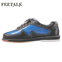 Unisex Bowling Shoes men women Skidproof Sole Professional Sports Bowling Shoes slip sneakers 012(China)
