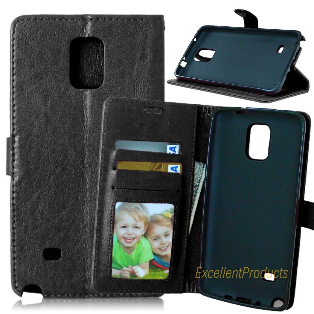 Роскошные 2in1 кошелек Пояса из натуральной кожи чехол для телефона Samsung Note 4 Съемная крышка многофункциональный с держателем карты