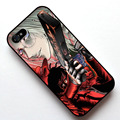 Аниме Hellsing Алукард Чехол, чехол для Apple Iphone 4s 5 5s SE 5c 6 6 s 6 плюс 6 s плюс