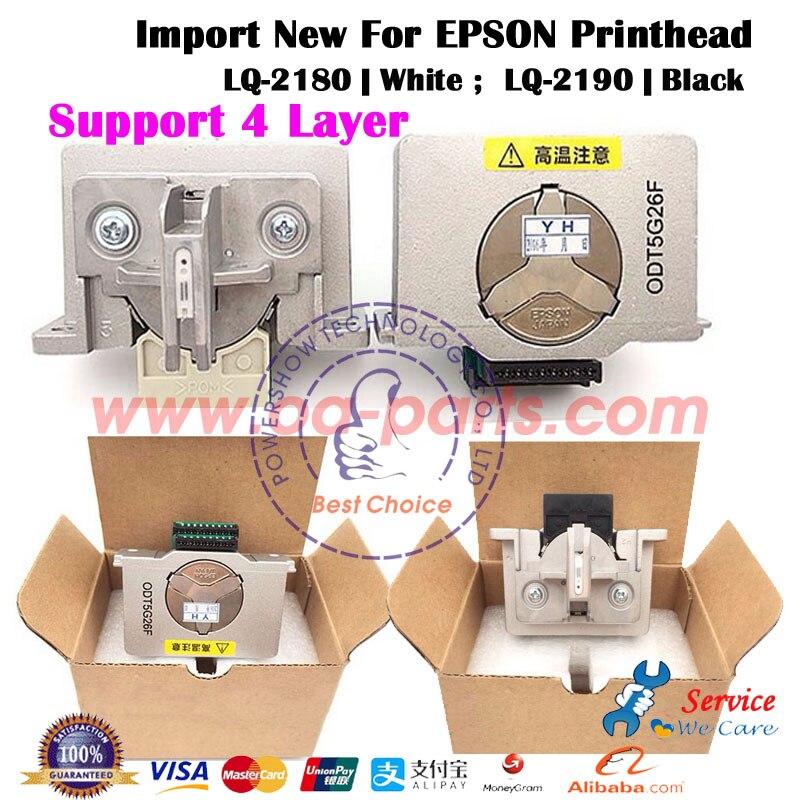 2X NEW F069000 F050000 Printhead For EPSON LQ 2180 LQ 2190 LQ2180 LQ2190 Printer Parts