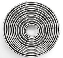 Инструменты для торта 12 шт/компл нержавеющая сталь круглая